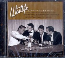 WESTLIFE Allow Us To Be Frank CD NEW SEALED