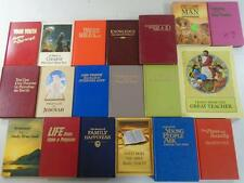 Lot of 19 Religious Watch Tower Books~Worship the Only True God~The Bible