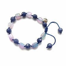 Lola Rose AW16 Orlando Beaded Bracelet in Indigo Pink Agate & True Blue