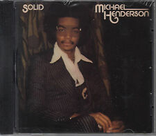 Michael Henderson (Bass): Solid [Expanded Edition] (US FTG CD 2014 ) NEW SS oop