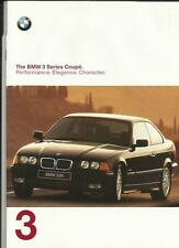 ++ REDUCED ++ BMW 3 SERIES COUPE CAR BROCHURE 1997/98