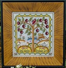 """""""Halfpenny Pasture"""" Cross Stitch Pattern by CARRIAGE HOUSE SAMPLINGS Sampler"""
