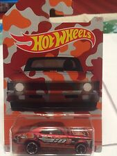 Hot Wheels 2015 Wal-Mart Exclusive Camouflage Series '68 Chevy Nova Tampo Error