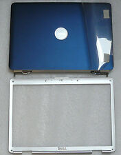 NEW DELL INSPIRON 1525 1526 LID COVER BLUE HINGES WIRES FRONT BEZEL TY051 0TY051