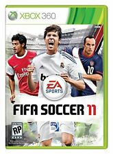 XBOX 360 Fifa Soccer 11 Video Game 2011 ea sports online multiplayer COMPLETE