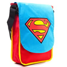 NEW OFFICIAL Superman DC Comics Classic Logo Retro Cross Body Man / Shoulder Bag