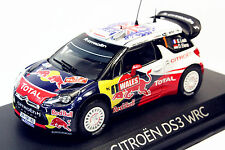 1/43 Norev Citroen DS3 #1 WRC World Champion Rallye GB 2011
