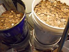 $500 Face Value 340 LBS! US Copper Pennies Machine Sorted 1959-1982 50,000 Coins
