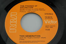 Friends of Distinction: This Generation / Love or Let Me Be Lonely  [Unplayed]
