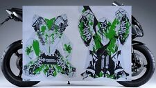 2008-2010 Kawasaki Ninja ZX10 ZX10R COMPLETE HIGH-GLOSS GRAPHICS KIT