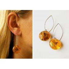 Wunderschöne Ohrringe, Hängeohrringe Bernstein, Amber Silber 925, NEU - UNIKAT -