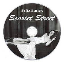 Scarlet Street (1945) Fritz Lang Movie on DVD - Drama, Film Noir
