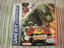 GAMEBOY ADVANCE/NINTENDO DS GODZILLA DOMINATION! PAL ESPAÑA BUEN ESTADO