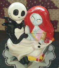 Disney The Nightmare Before Christmas Jack & Sally Westland Cookie Jar