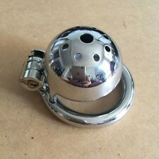 """S027 Stainless Steel Male Chastity Cage - 1.75"""" Ring - US Seller Fast Shipping!"""