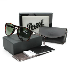 Persol 714 Folding Sunglasses 24/31 Havana Brown / Grey Green PO0714 54 mm