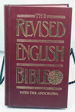 The Revised English Bible With The Apocrypha Hardcover Dust Jacket