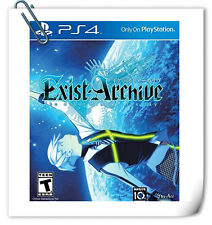PS4 Exist Archive: The Other Side of the Sky Aksys RPG Games