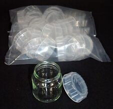 10 Baby Food Jar Plastic Caps / Lids for Tissue Culture