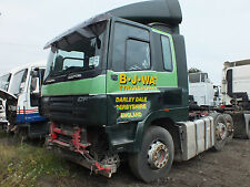 2007 (56) DAF CF85 410 Paccar With Ad Blue Automatic Breaking For Parts