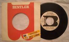 45 THE ROGERS - COS'E' L'AMORE - GUARDA + STIKER  ANNO 1968 - PROMO JB - EX+