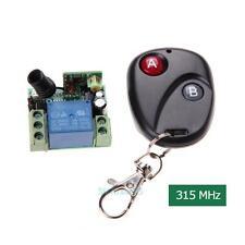 315MHz DC12V 10A Wireless Remote Control Switch Transmitter + Receiver with Lid