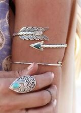 Silver Arrow Armlet Bracelet Upper Arm Cuff Armband Bangle Jewelry Only 4 Left!