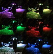 4 POD Rock LED Off Road Jeep ATV golf cart Truck Vehicle Rock Crawler Light RGB