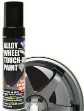 E-Tech Alloy Wheel TOUCH UP PAINT STICK GUNMETAL GREY REPAIR DAMAGE CURBED SKUF