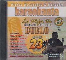 Duelo Lo mejor De Exitos Karaokanta Vol 58  Karaoke New Nuevo Sealed