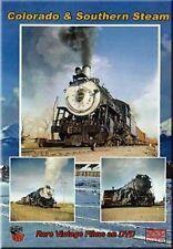 Colorado & Southern Steam Guernsey Denver Trinidad DVD