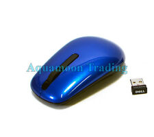 WM311 RWH6C New Factory Boxed Dell Wireless Travel Mouse Mice w/ Dongle Blue