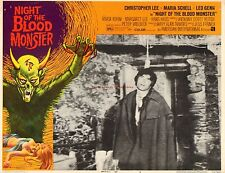 Original Lobby Card 1972 Night of the Blood Monster Horror AIP Film