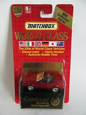 Matchbox Superfast 71i Cadillac Allante - RED - World Class Series - Mint/Boxed