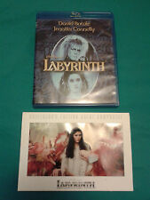 The Labyrinth - Blu Ray + Collector's Art Cel (David Bowie)