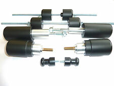 TRIUMPH STREET TRIPLE 675 UPTO 2012 CRASH MUSHROOMS SLIDER  BOBBINS SET 10   S7Q