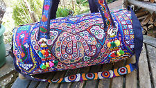 Vintage TOTE Indian hippy boho Gypsy Festival Tribal Banjara travel weekend bag