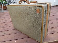 "Vintage Hartmann Tweed 26"" Suitcase - Luggage - Nice Condition!!"