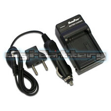 Camera Battery Charger Fujifilm NP-50 BC-50 BC-45W FinePix F50F Wall + Car + USB