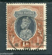 INDE ANGLAISE, 1937-41, timbre 155, GEORGE VI, oblitéré, VF used stamp