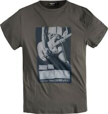 Replika Jeans Guitar T-Shirt/Khaki - 5XL WAS £29.99, NOW £20.00