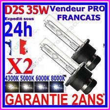 2 AMPOULES D2S 35W 12V LAMPES DE RECHANGE REMPLACEMENT FEU XENON KIT HID 8000K