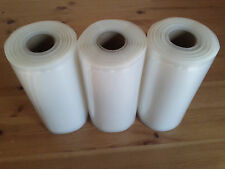 "THREE 6""x 50' Rolls for Vacuum Food Storage Sealer Bags!  SUPER Fast Ship!"