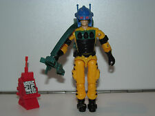 1988 GI JOE LIGHTFOOT v1 100% COMPLETE w/ CARDBACK C9+ - HASBRO