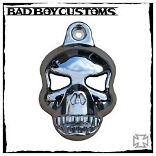 Hupencover Motorrad Harley Davidson V-Rod Night Rod Muscle Skull BBC 077 chrome