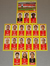 FIGURINE CALCIATORI PANINI 2009-10 SQUADRA PIACENZA CALCIO FOOTBALL ALBUM