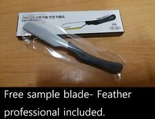 NEW CJB Straight Kamisori Razor - similar to Feather artist club single edge ac