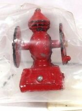 VINTAGE RED ANTIQUE STYLE METAL COFFEE GRINDER DOLLHOUSE MINIATURE 1:12 NEW!
