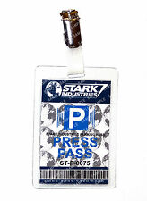 Iron Man Stark Industries Press Pass ID Badge Cosplay Prop Costume Christmas