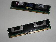 8GB Ram 2 x 4GB PC2-5300F ECC APPLE MAC Pro 1,1 2.1 3.1 / IBM SUN DELL HP SERVER